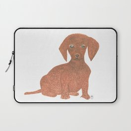Daffodil the Dachshund Puppy Laptop Sleeve