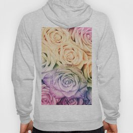 Some people grumble - Colorful Roses - Rose pattern Hoody