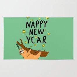 Nappy New year Rug