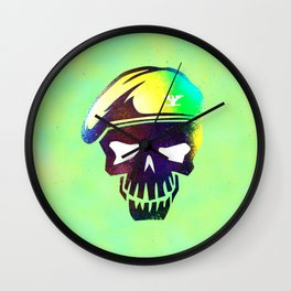 skull(soldier) Wall Clock