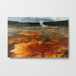 Awesome Geyser Colors Metal Print