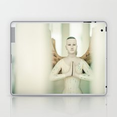 Doll put the palms of the hands together in salut Laptop & iPad Skin
