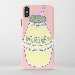 Banana Milk iPhone Case