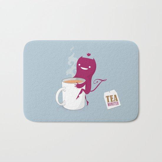 Tea Monster Bath Mat