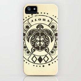 Tribal Aloha Mandala iPhone Case
