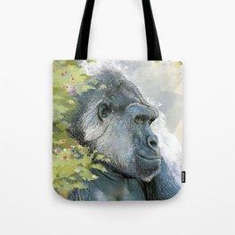 Silverback Gorilla In Contemplation Tote Bag