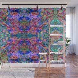 Cool, Calm, & Fluorescent Wall Mural