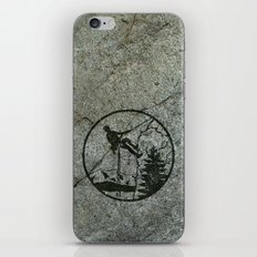 rockclimbing iPhone & iPod Skin