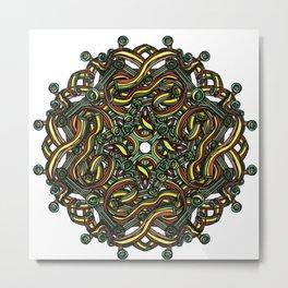 Eye Mandala Metal Print