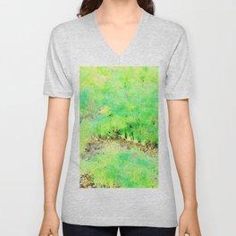 Hortus Conclusus: fennel plants Unisex V-Neck
