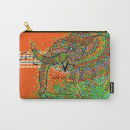 Elephant Song Carry-All Pouch