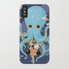 The Fishing Night iPhone Case