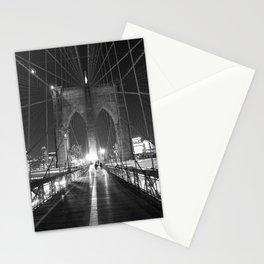 Brooklyn Bridge B/W Stationery Cards