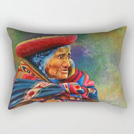 Las marcas del Cuzco Rectangular Pillow