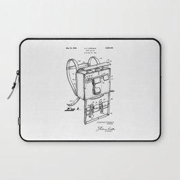 patent art Campiglia First Aid kit 1942 Laptop Sleeve