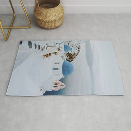 santorini v / greece Rug