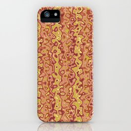 Primal-Canyon colorway iPhone Case