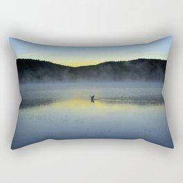 Perfect Landing (Sunrise, Lake George) Rectangular Pillow