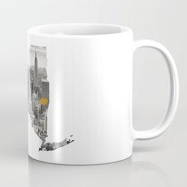 New York Map Cut Out Coffee Mug