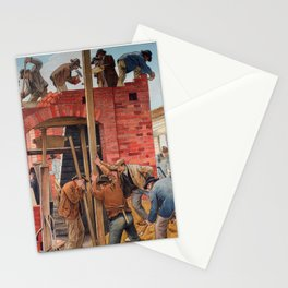 Masons at Work Stationery Cards