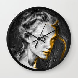 InkGIRL Wall Clock