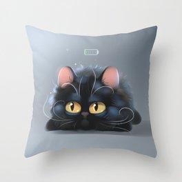Need my coffee Throw Pillow