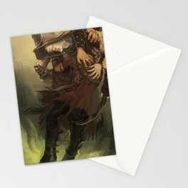 Subjected to His Will Stationery Cards