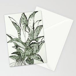 Agave, Kiss of Mezcal the Spirit of Mexico Stationery Cards
