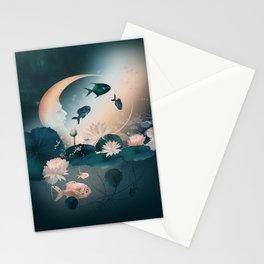 Lake sleeps Stationery Cards