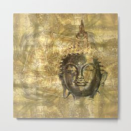 Buddha antique Metal Print