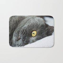 cute cat Bath Mat