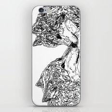 Black Wolf iPhone & iPod Skin