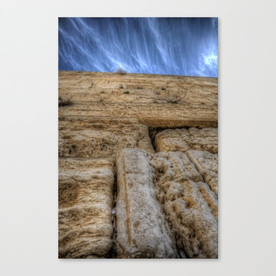 The Wailing Wall Series #3 Canvas Print