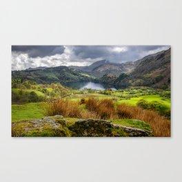 Nant Gwynant Snowdonia Canvas Print
