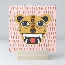 Wild Cat | Markings Mini Art Print