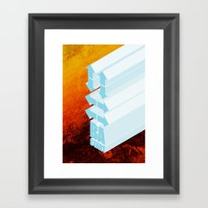 Respect the Code. Framed Art Print