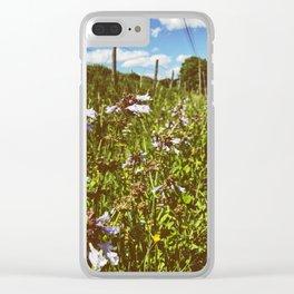 Roadside Flowers • Appalachian Trail Clear iPhone Case