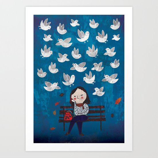 Catch sight of wonders! Art Print