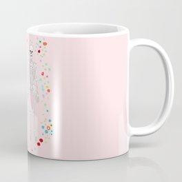 together forever pink background Coffee Mug