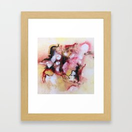 Abstract 1 by Saribelle Framed Art Print