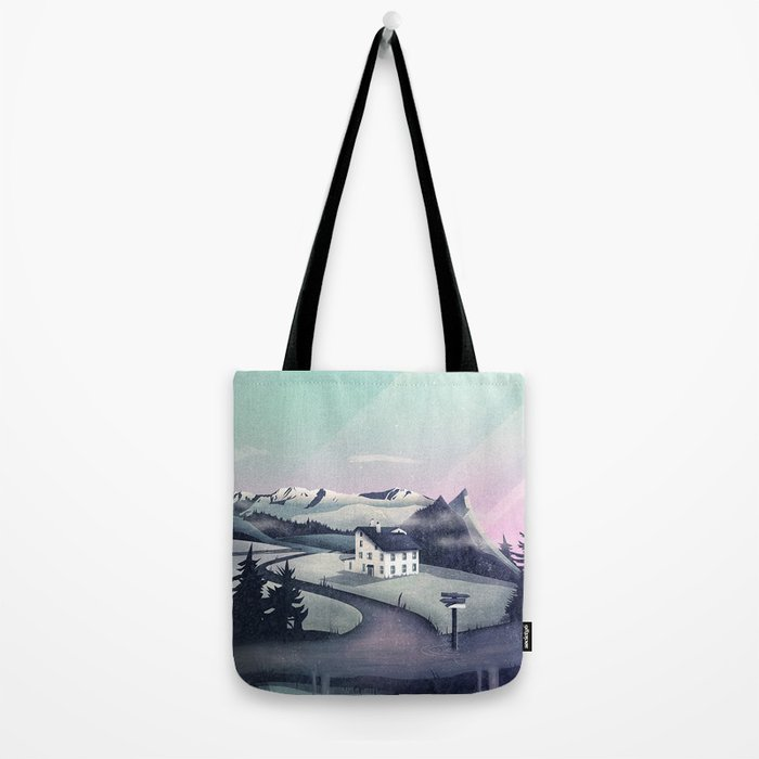Alpine Island Tote Bag