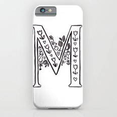 M is for iPhone 6s Slim Case