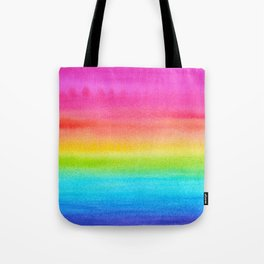Rainbow Gradient Tote Bag