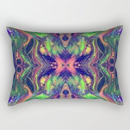Alienish Rectangular Pillow