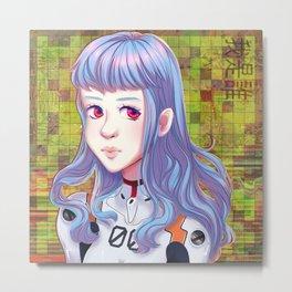 rei ayanami_02 Metal Print