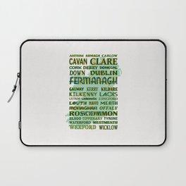 32 Counties Of Ireland Laptop Sleeve