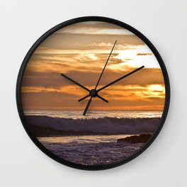El Matador Sunset, 2011 Wall Clock
