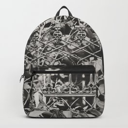 New Orleans Garden District Fence Backpack