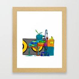 Music Theory Framed Art Print