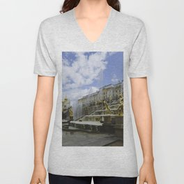 Fountains of Peterhof Unisex V-Neck